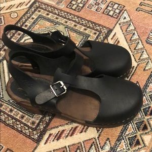 Shoes - Lotta from Stockholm black clogs size 38